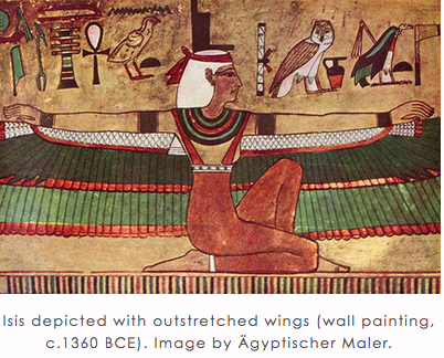 Isis with Outstretched Wings